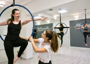 Aerial Hoop for beginners